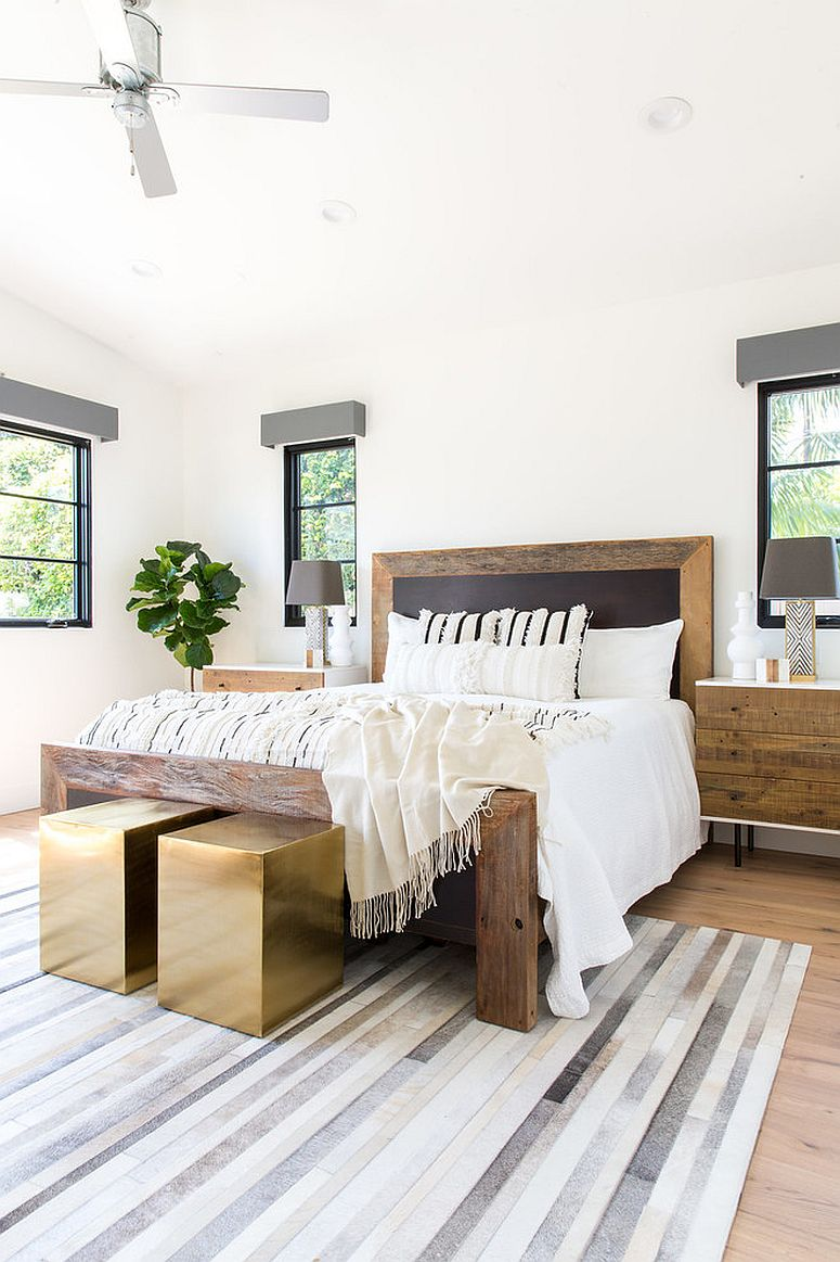 Discover the right balance between industrial-farmhouse and modern as you go along