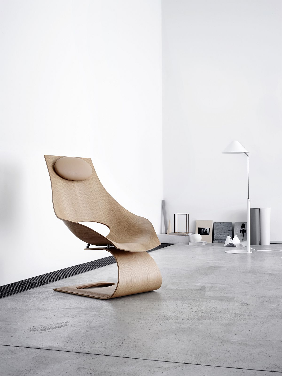 Dream Chair designed by Tadao Ando as a tribute to Hans J. Wegner