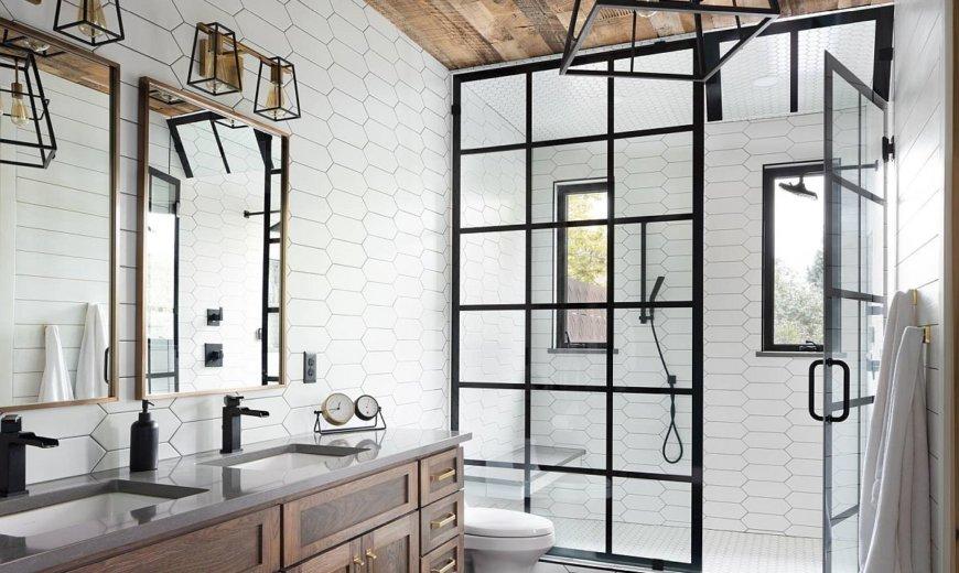 Trendy Blend: Industrial-Farmhouse Style Interiors Make a Brilliant Impact