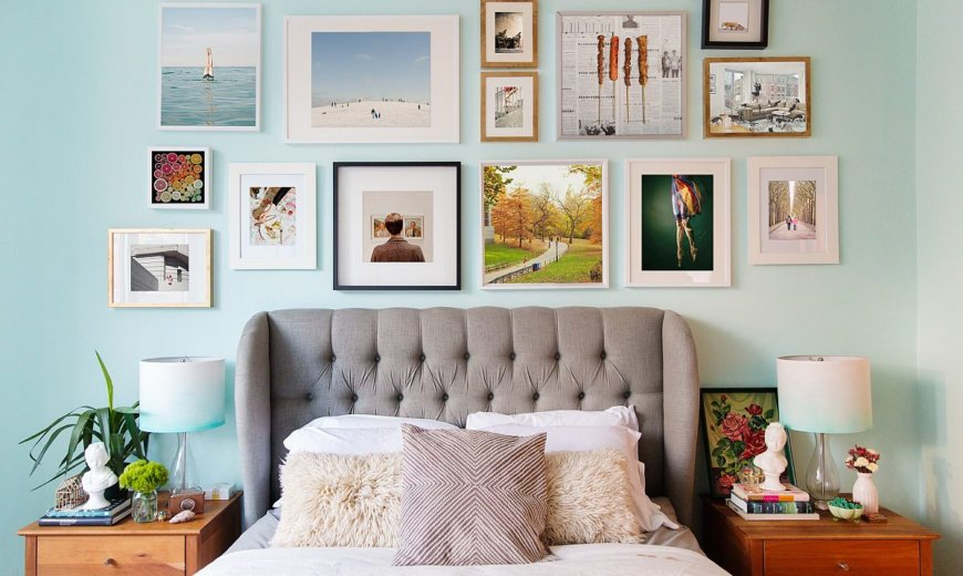 Gallery Wall for your Bedrooms: A Focal Point that is So Very Personal!