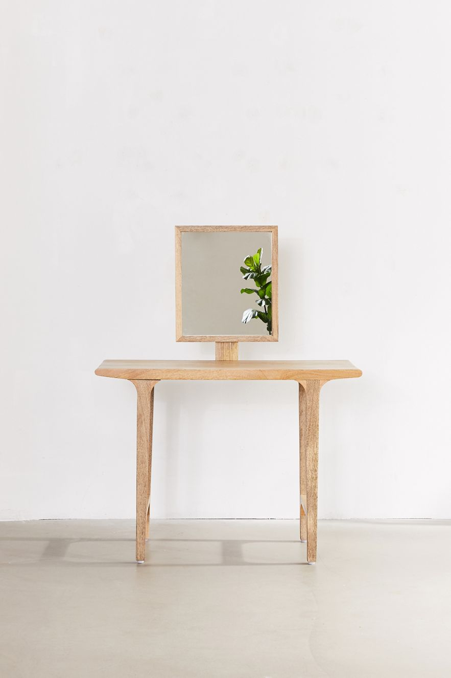 Minimalist vanity from Urban Outfitters