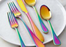 Rainbow-iridescent-flatware-by-Mepra-12856-217x155