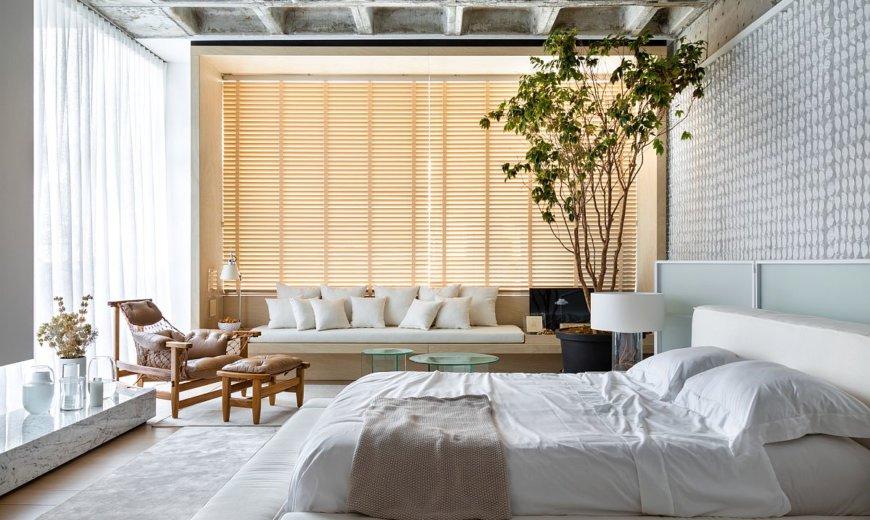 Living Bedroom that Keeps Things Organic and Minimal: Dream Bedrooms