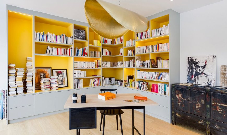 A French Connection: Best Home Offices from Paris Inspire You to Redecorate!