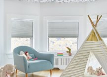 Vivacious-butterfly-and-birds-ceiling-wallpaper-fills-this-girls-room-with-fun-pattern-52559-217x155