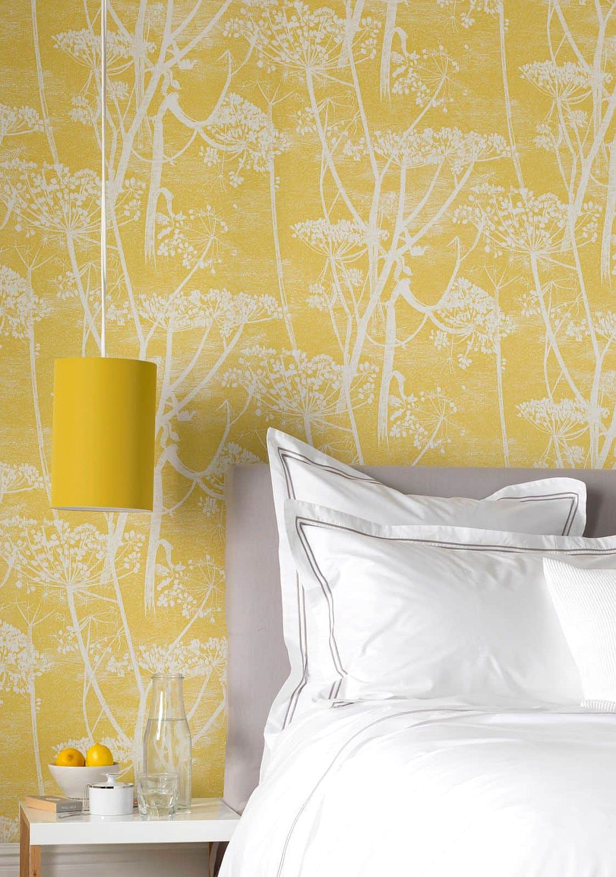 Wallpaper-brings-yellow-to-the-bedroom-by-create-a-cost-effective-and-colorful-accent-wall-86160