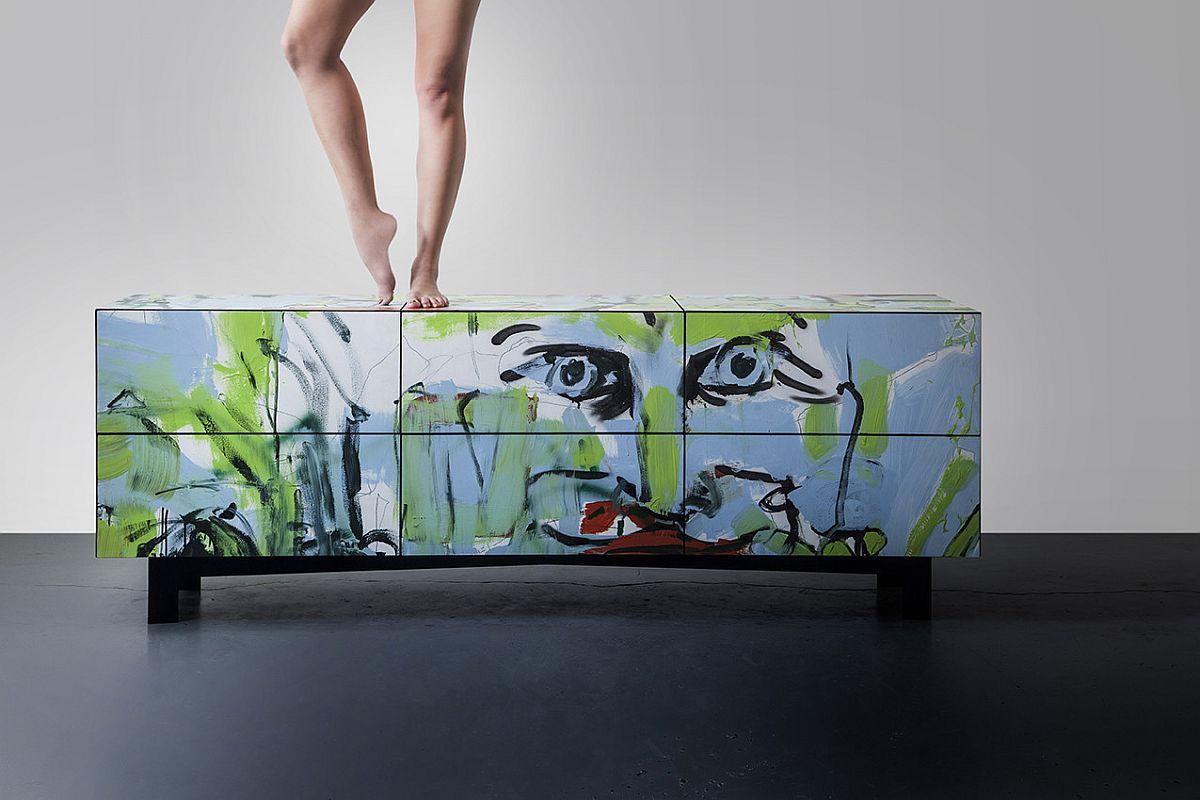 A Dresser that feels more like a brilliant work of art