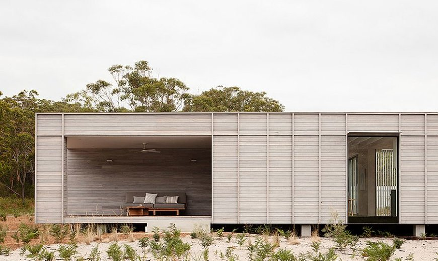 Off-Grid Prefab Brings Sustainable Modern Design to the Classic Aussie Home