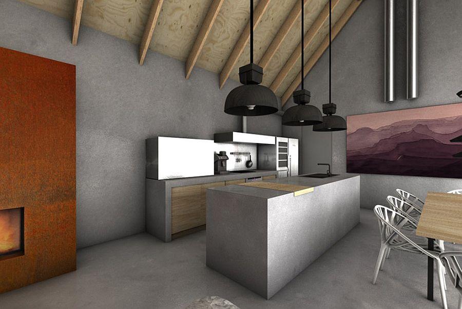 Black-pendant-lights-above-the-kitchen-island-make-a-big-visual-impact-71220