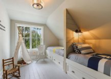 Coastal-themed-kids-bedroom-with-bunk-beds-and-wooden-floor-painted-in-white-80075-217x155