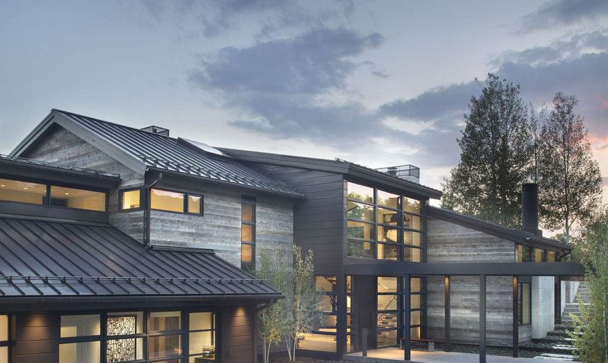 Opulent Contemporary Retreat in Aspen with Majestic Elk Mountain Views