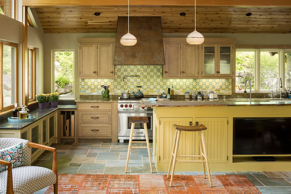 Custom-backsplash-and-floor-tiles-add-different-shades-of-green-and-yellow-in-here-even-as-the-island-steals-the-spotlight-70307
