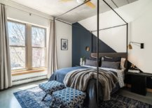 Dark-gray-and-white-accent-wall-in-this-polished-bedroom-moves-away-from-the-mundane-40658-217x155