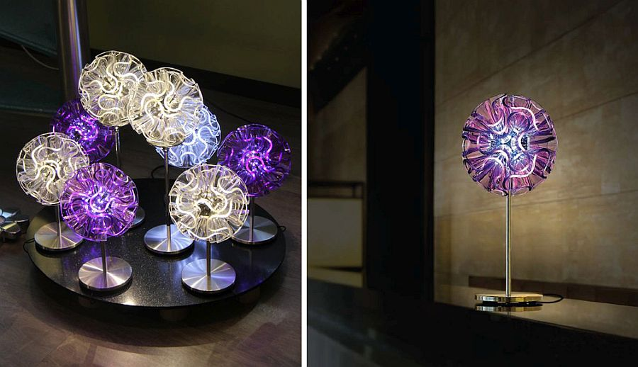 Electric Coral LED lights inspired by life in the deep sea