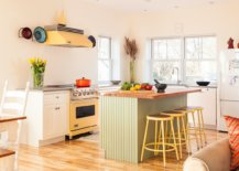 Exquisite-eclectic-kitchen-with-a-white-backdrop-and-blocks-of-pastel-green-and-yellow-92038-217x155