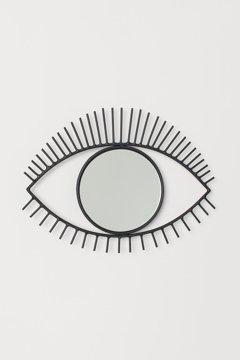 Eye-shaped mirror from H&M Home