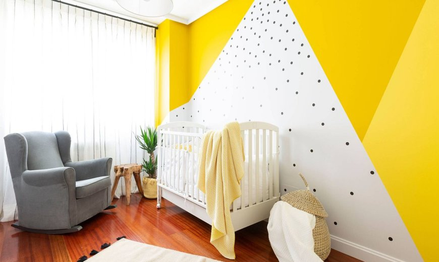Burst of Brightness: 10 Beautiful Nurseries in Yellow