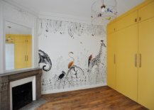 Floor-to-ceiling-wardrobe-brings-yellow-to-this-unique-nursery-with-fireplace-20055-217x155