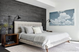 Bedrooms with Gray Accent Walls: Modern and Adaptable