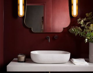 Going Bold: 20 Contemporary Powder Rooms in 10 Spectacular Colors
