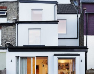 Multi-Tiered Home Renovation in North London Creates Light and Airy Interior