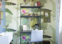 Green-pattern-filled-wallpaper-gives-this-eclectic-powder-room-tropical-freshness-18423-217x155