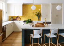 Handmade-yellow-backsplash-in-the-kitchen-coupled-with-deep-and-dark-green-island-for-a-charismatic-new-look-70399-217x155