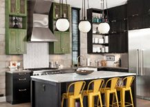 It-is-the-striking-bar-chairs-that-usher-yellow-into-this-industrial-farmhouse-style-kitchen-21369-217x155