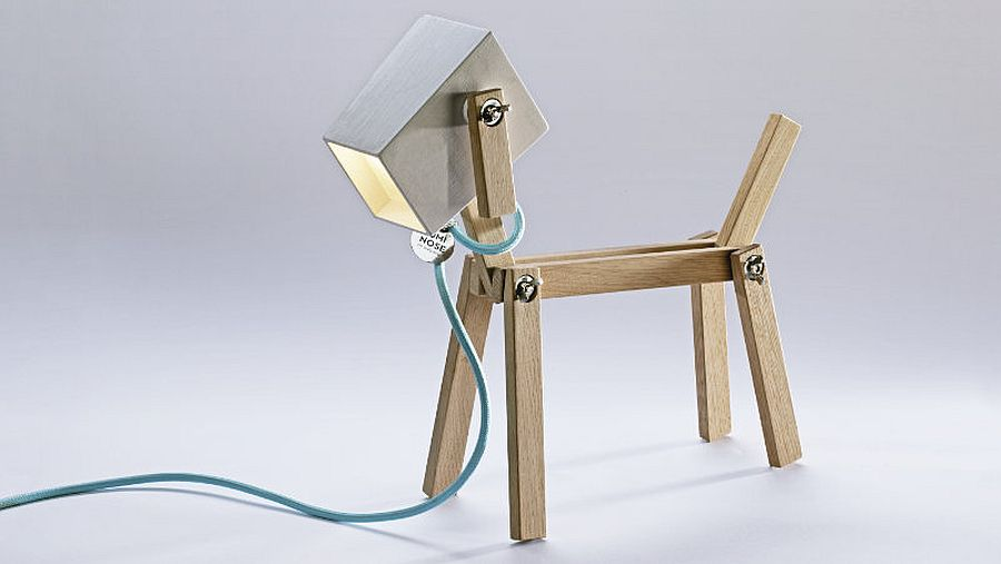 Luminose – Dog-shaped table lamp