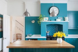 Turquoise Kitchens at their Refreshing Best: Welcome Home Breezy Summer Charm