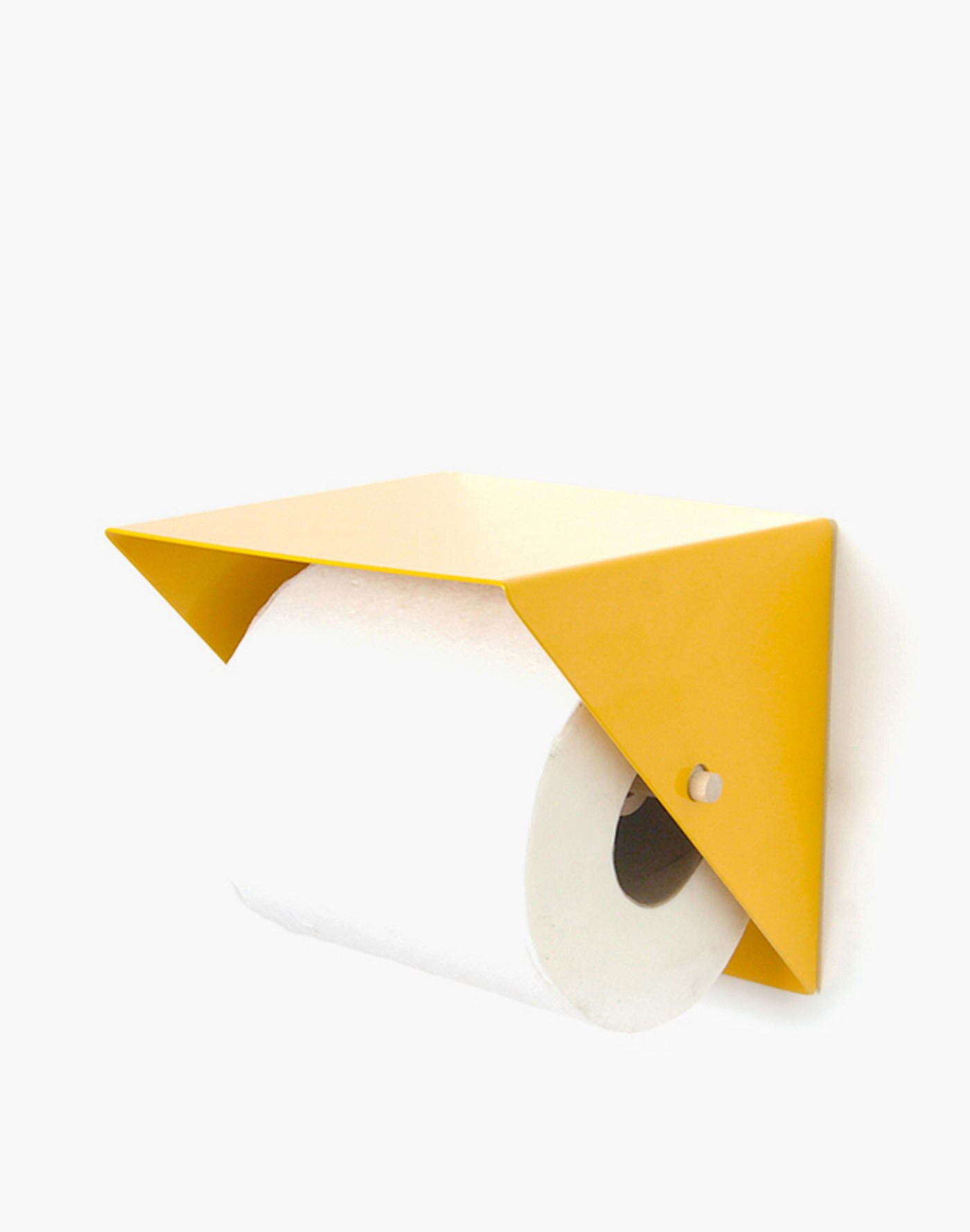Midcentury-style toilet paper holder