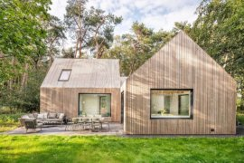 Villa Tonden: Modern Dutch Cabin in the Woods Brings Modernity to Classic Form