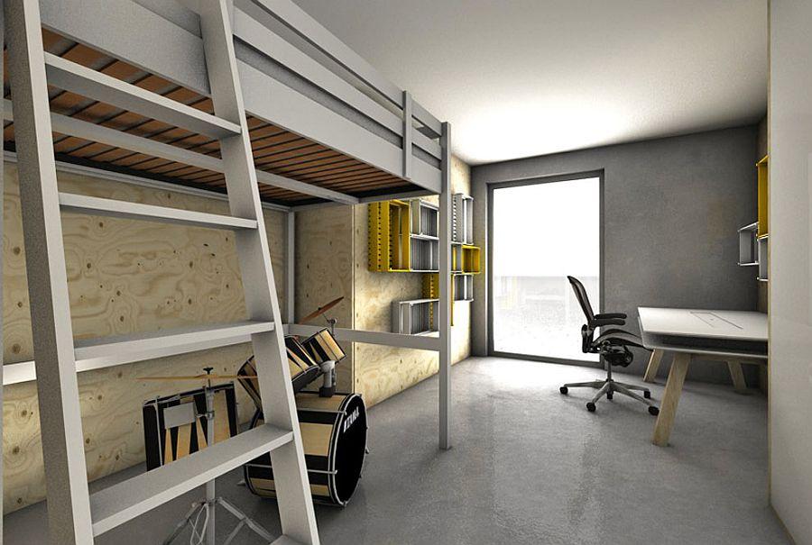Modern-kids-bedroom-design-with-loft-bed-and-workstation-in-the-corner-65429