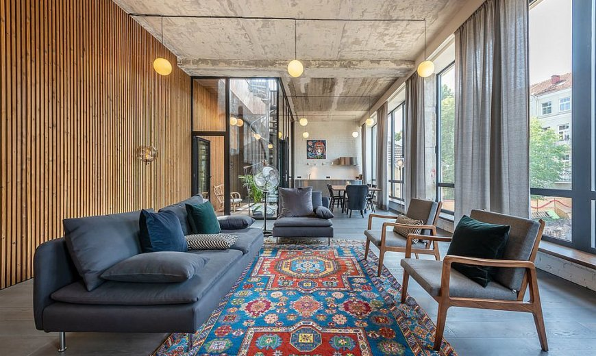 Forgotten Warehouse Finds New Life as Trendy Apartment and Studio