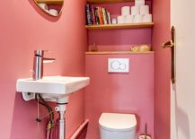 Pink-and-snazzy-powder-room-with-glossy-tiles-that-bring-brightness-to-the-space-99536-217x155