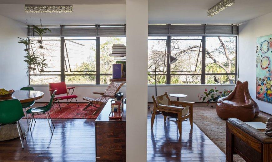 Apartment SQS 308: Reinterpreting Modernism with a Distinct Brazilian Flavor