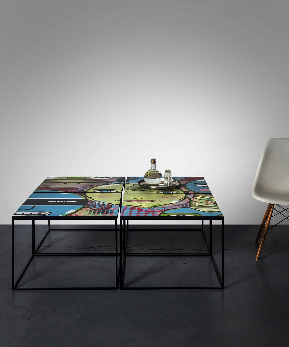 Street Capture Coffee Table is a work of art that is perfect for any living space