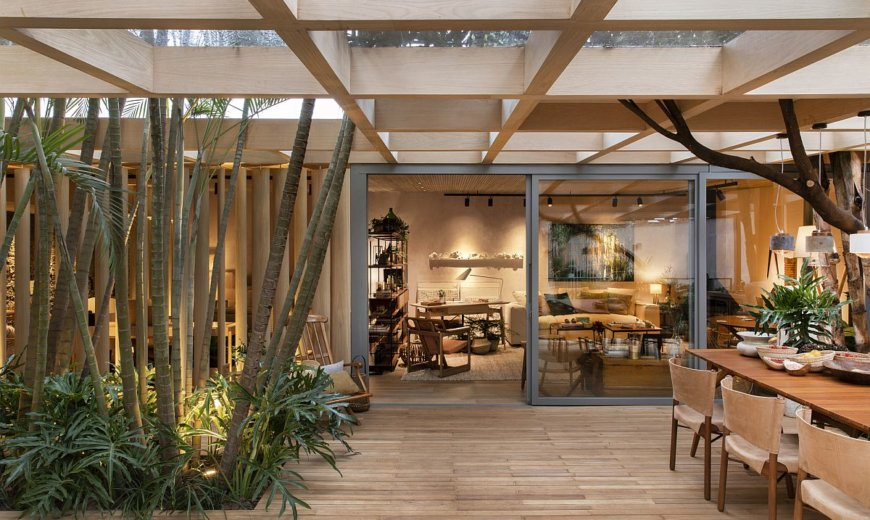 Splendid World of Wood and Green: Forest House Keeps Your Senses Engaged