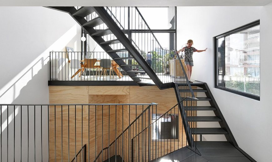 Durable Dutch Loft Scales Up the Prefab Frame with an Exceptional Interior