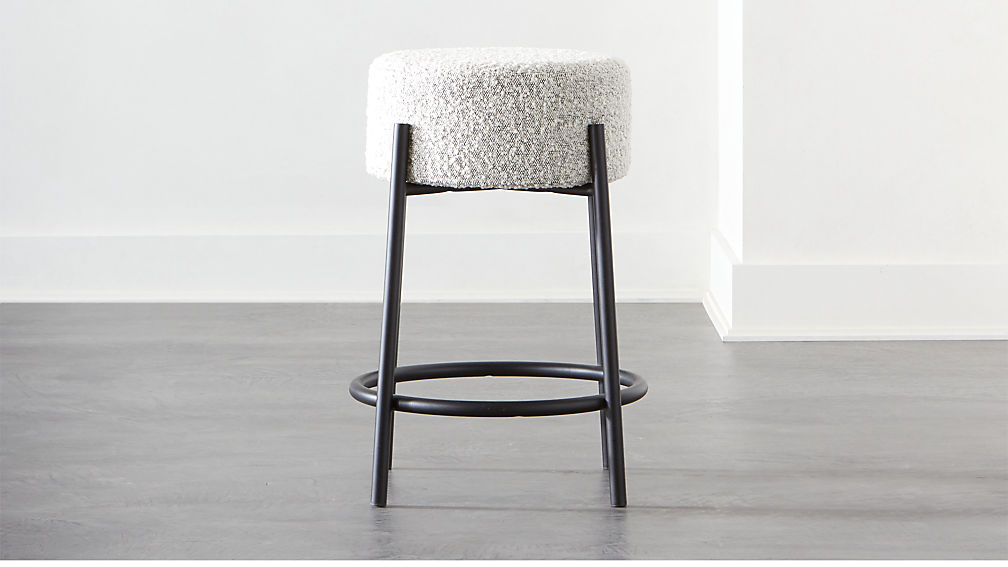 Textured counter stool from CB2