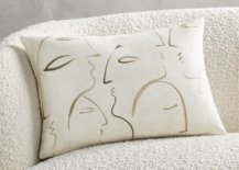 Throw-pillow-with-line-drawing-faces-80339-217x155