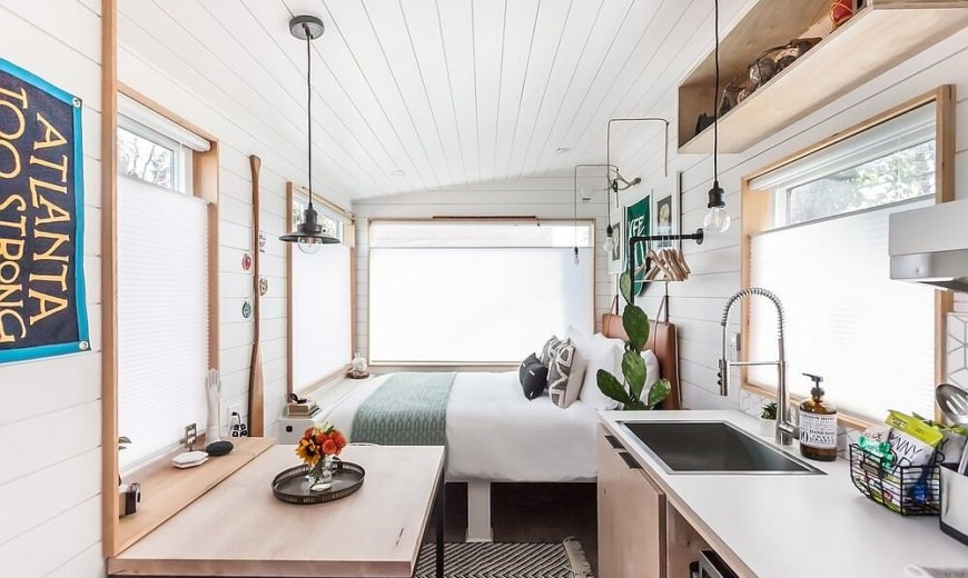Experience Living in a Tiny House while Exploring Atlanta's Very Best