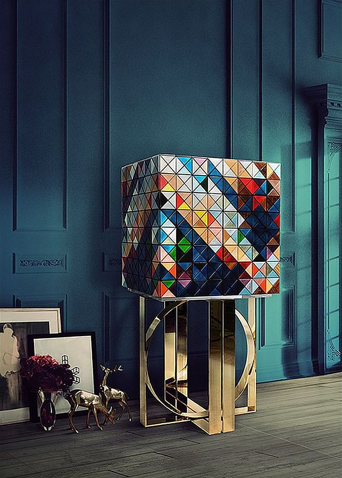 Upper part of the iconic Pixel cabinet is made of 1088 triangles