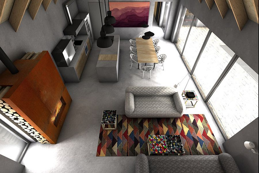 View-of-the-open-plan-living-area-from-above-61353