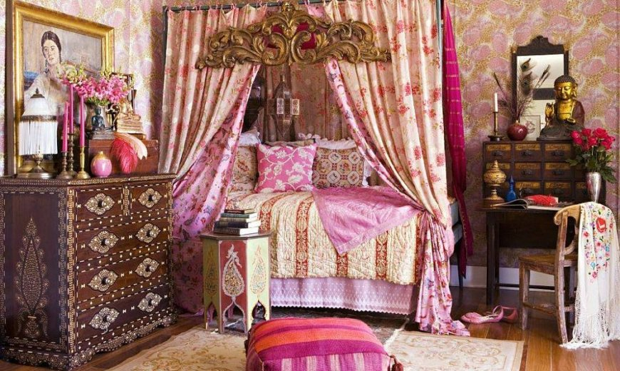 Style to Your Own Tune: Bohemian Bedrooms that Mesmerize and Soothe