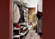 Chic-eclectic-walk-in-closet-with-neon-lighting-and-an-exposed-brick-wall-inside-17207-217x155