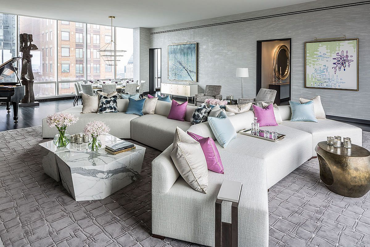 Ultimate Luxury: Opulent New York Apartment Inside the World-Class One57