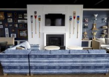 Decorating-the-space-around-the-fireplace-with-TV-paddles-and-memorabilia-33360-217x155