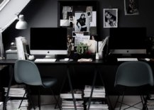 Exquisite-modern-Scandinavian-home-office-in-dark-gray-and-black-is-a-showstopper-97595-217x155