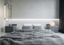 Fabulous-bedisde-pendants-and-table-lamp-bring-abstratct-forms-to-this-minimal-bedroom-18203-217x155